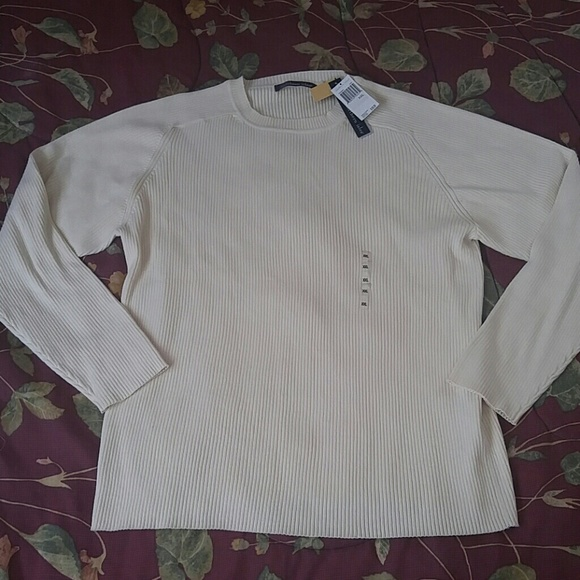 Clothing, Shoes & Accessories Sweaters New Northern Isles Long Sleeve Aerospun Cotton Sweater Mens Size Xl Extra Large