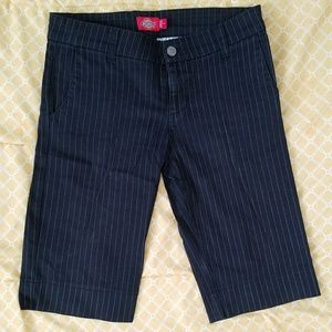 Dickie's Pinstriped Bermuda Shorts