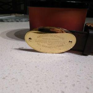 2019455a4e14 Louis Vuitton Accessories - Louis vuitton voyage belt
