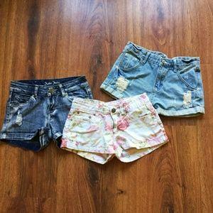 Pants - 3 Shorts Bundle