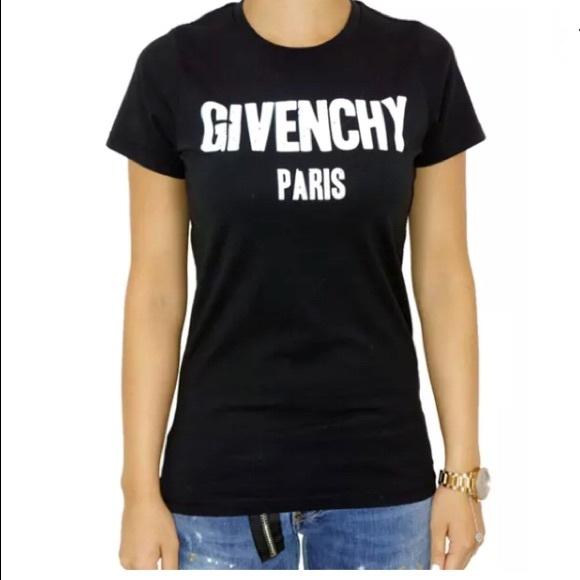 1766f56155c05d teespring Tops | Givenchy Paris T Gildan Women Tshirt M 68 Size ...
