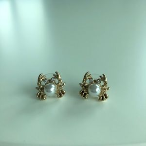 Lily Pulitzer Crab Pearl Earrings