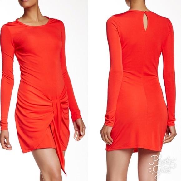 b0487a513bdb rachel zoe enya red dress