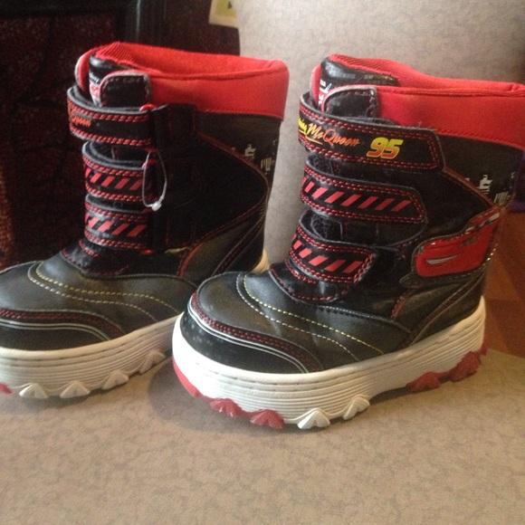 Lightning Mcqueen Snow Boots Toddler 9