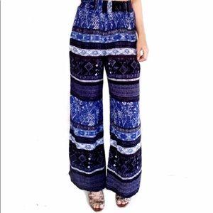 Urban Outfitters ecote blue bohemian pants