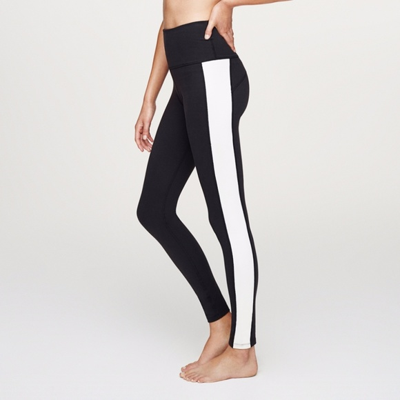 49f0d3813afdb kate spade Pants | Beyond Yoga X High Waist Tuxedo Legging | Poshmark