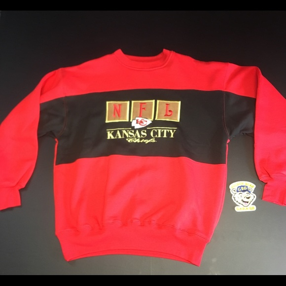 Discount Vintage Shirts | Kansas City Chiefs Crewneck Sweatshirt | Poshmark  for cheap
