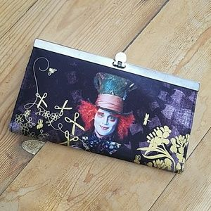 Disney Alice in Wonderland Mad Hatter Wallet