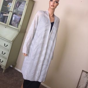 Chicos gray long sweater