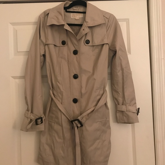 a few days away unique style buying new MK trench coat