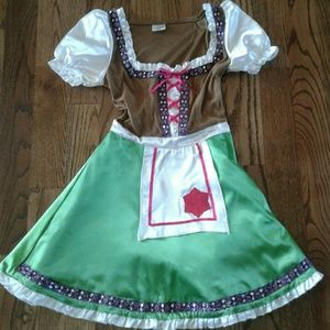 Other - girls German drindl dress size Small costume