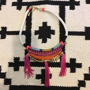 Baublebar colorful tassel necklace