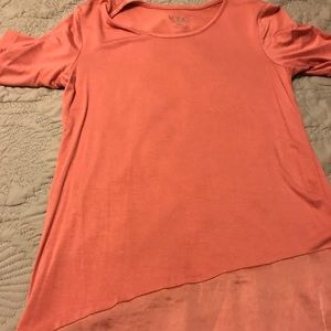 LoGo 3/4 sleeve T-shirt pink new but no tags