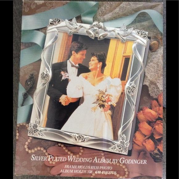 Godinger Other Silver Plated Wedding Album Nib Poshmark