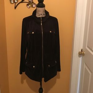 Style & Co. Velvet Parka **SOLD**