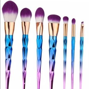Other - Unicorn brushes -7 pieces