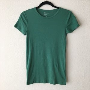 GAP - The Modern Crew Tee: Teal Green