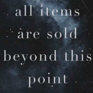 Other - SOLD Beyond this point