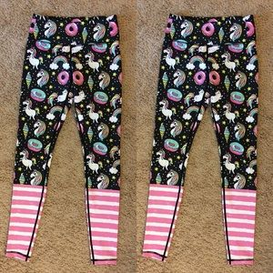 d0a042ea5ac5d Flexi Lexi Fitness Pants - FLEXI LEXI FITNESS Rainbow Unicorn Legging