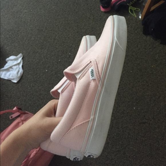 Vans Shoes | Ballerina Pink Vans | Poshmark