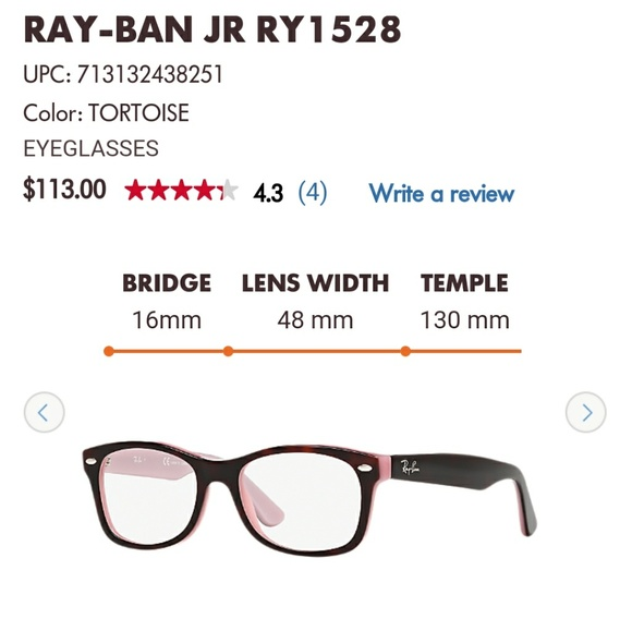 ec6c00dff85 closeout ray ban junior eyeglasses ry1053 02058 714ed  top quality  authentic kid size ray ban eyeglasses 44007 a3d5c