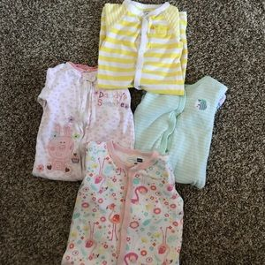 Other - Set of 4 sleepers- 9 months
