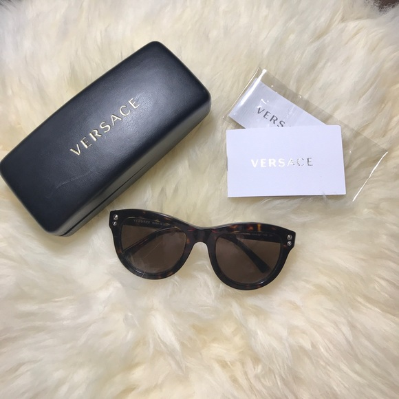 b35be6f07b5 Versace Tortoise 4291 Wayfarer Sunglasses. M 59efb7624127d0ae7401c567.  Other Accessories ...