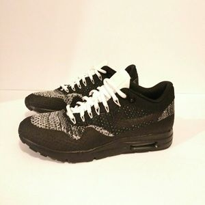 Nike Shoes - NIKE Women's Air Max 1 Flyknit black size 7.5 7