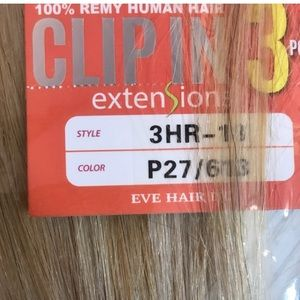 Accessories - Clipin 100% Human hair 18 Inch Remy Extensions