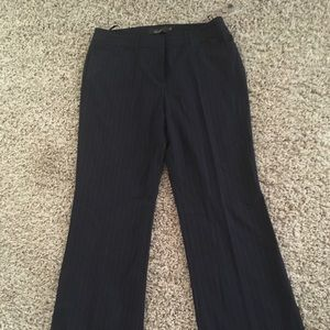 Pinstriped Navy lined pants