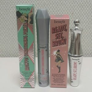 Travel Benefit Prime and Set Brow Duo