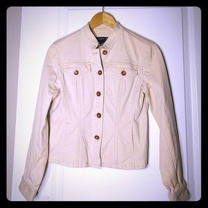 Cute Beige Lightweight Jacket