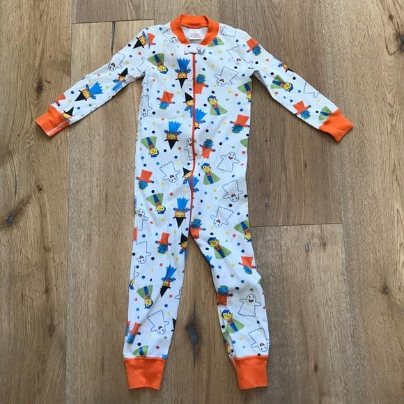 hanna andersson halloween sleeper pajamas