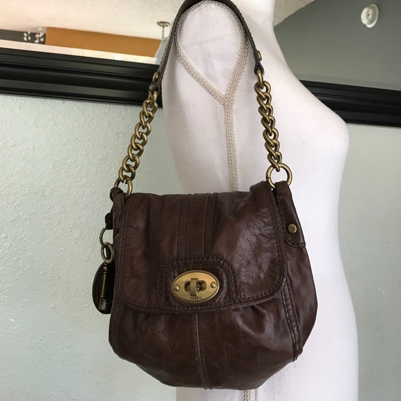 Fossil Handbags - Fossil chain shoulder bag c55b04db47055