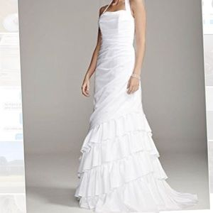Davids bridal wedding dress, NWT size 10