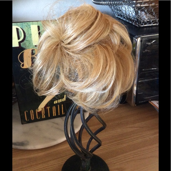 Blended Blond Hair Extension For Claw Comb Add