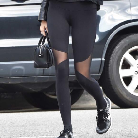 aa24ab3e1c ALO Yoga Pants - ALO YOGA COAST LEGGINGS| BLACK| KENDALL JENNER