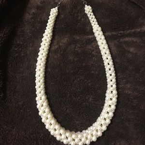 Asos Pearl Statement Necklace