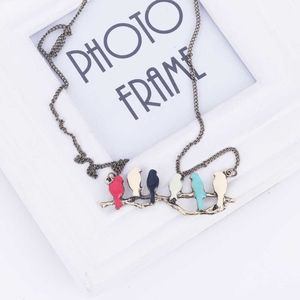 Jewelry - Birds On A Branch Family Necklace
