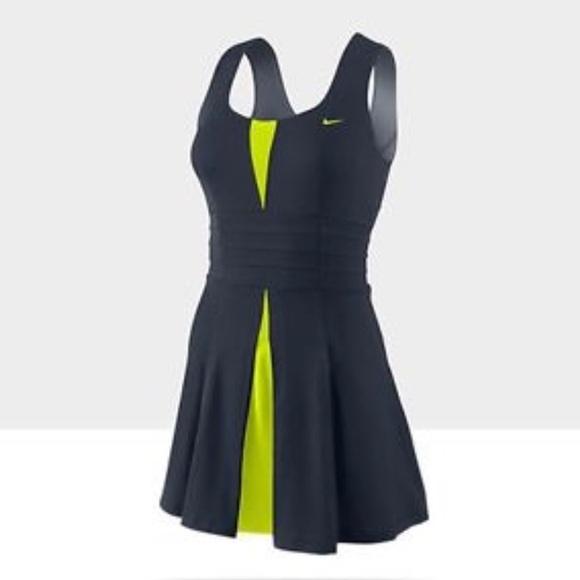 b772991d3cb Nike Women s pleated tennis dress in navy. M 59efcb0c5a49d0f0a8022d0b