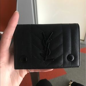 YSL small envelope wallet