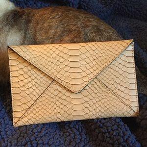 NWOT Loeffler Randall envelope clutch