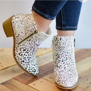 Shoes - Animal Print Fall Booties