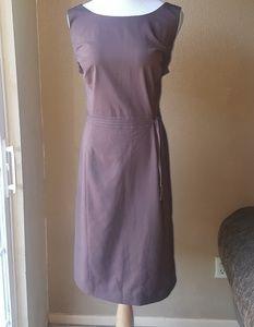 Brown A-line Dress EUC