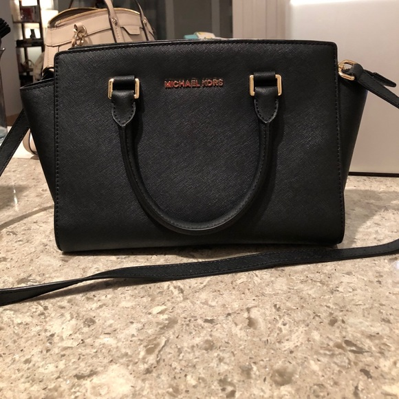 2b93d9d49824 Michael Kors Selma Saffiano Leather Medium Satchel.  M 59efd20c5c12f8e1b5023f20