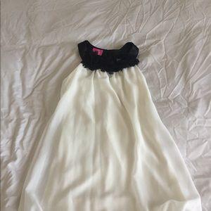 Cute Pinky girls bubble dress. Size 6x