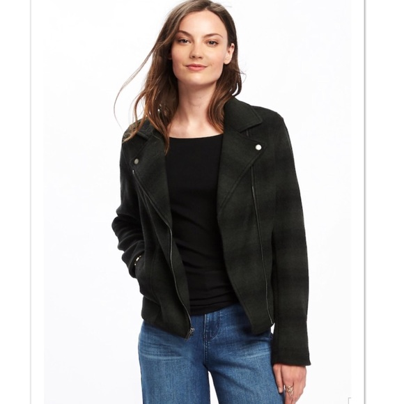2231db312042 Old Navy Jackets & Coats | Sweaterfleece Moto Jacket | Poshmark