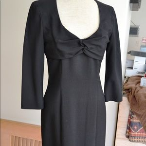 Frankie Morello Dresses - Frankie Morello Black Shift Dress IT 40 $1500