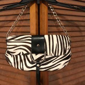 Handbags - NWOT Pony Hair Funky Handbag👛👛👛