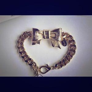 Valentino Red Chain Bracelet